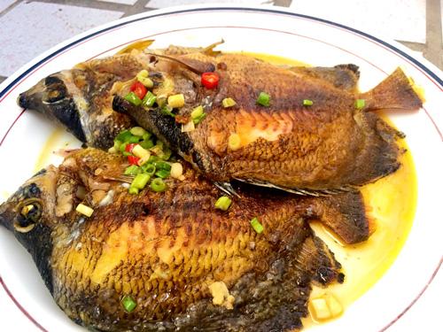 半煎煮耳帶鰈魚