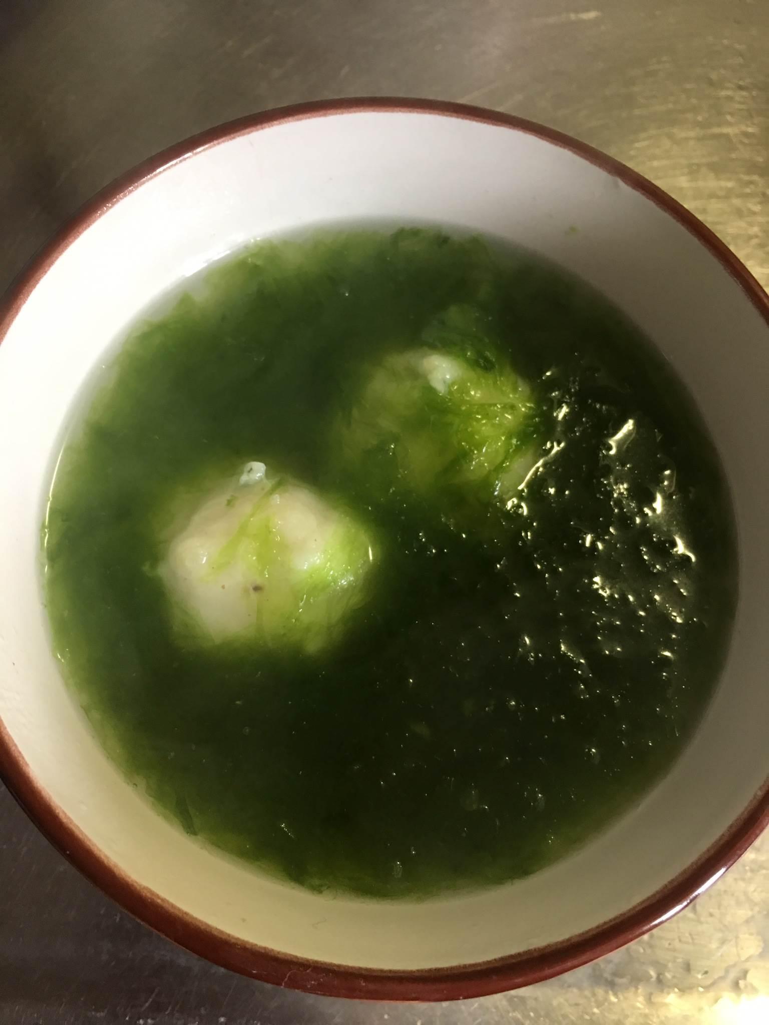 澎湖料理海菜花枝丸湯