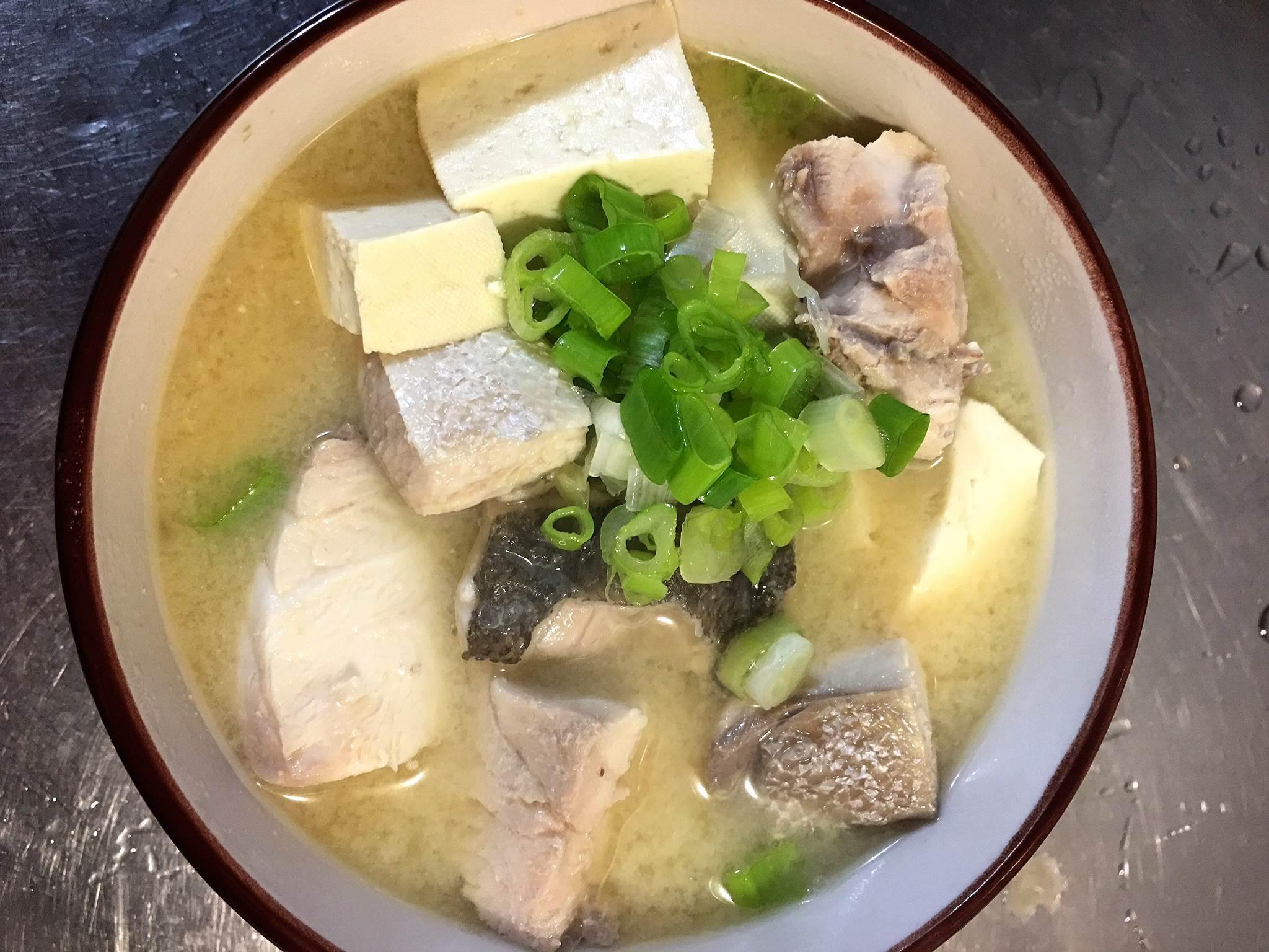 澎湖紅甘魚味增湯